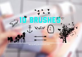 Uh no Brushes by ISatQuietly