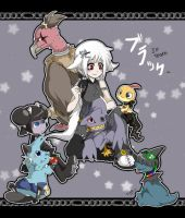 pokemon JP black team