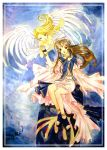 Belldandy and Holy Bell by moonlightamber