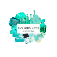 Pack Green Water / Pack Verde Agua [Pack #16] by OnlyWolfs