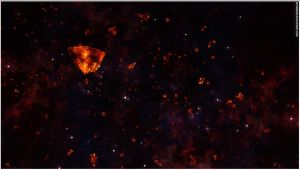 Glowing Asteroids Stock by Hameed