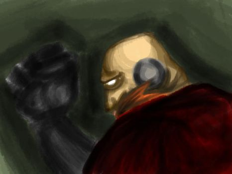 Robotnik: Painting practice by TheSlyder