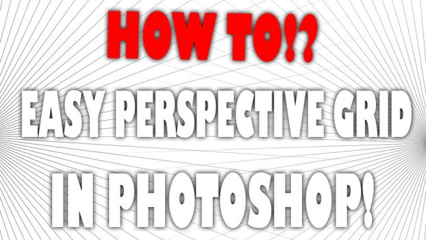 Photoshop Tutorial : Perspective grid by RogierB