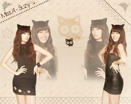 Kitty Kat Miss A Wallpaper by SeoulHeart