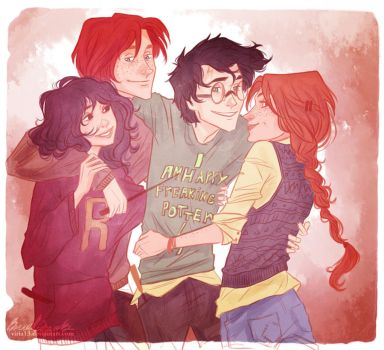 at least you've got us,Harry by viria13