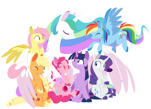 Equestria's Harmony by Selective-Yellow