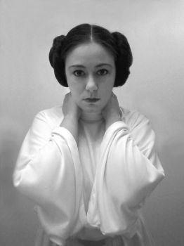 Rebel Princess: A cosplay tribute to Carrie Fisher by CelestialAngelDust