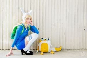 AT: Fionna and Cake by Larina-Satome