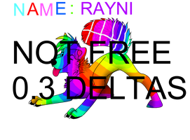 Colored Pose Rayni NOT FREE by Chat-Land-Poses