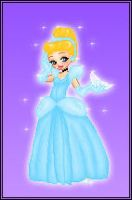 Disney Dollz: Cinderella by NoctiaVG