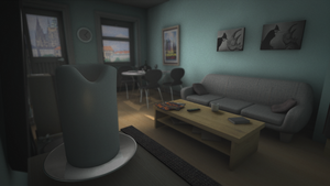 Apartment Render by Natewich4lunch