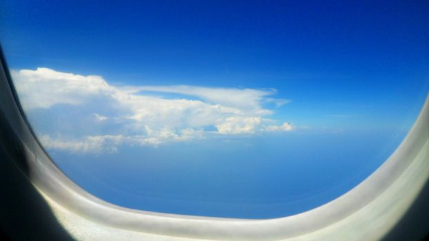 Sky View From an Airplane by TheSound0fSilence