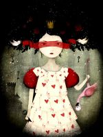 The Queen of Hearts by AnneJulieAubry