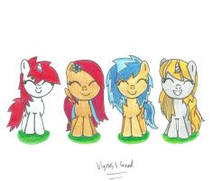 Have some filly OC's by UlyssesGrant
