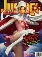 Justice Mag - Jun the Swan by Artgerm
