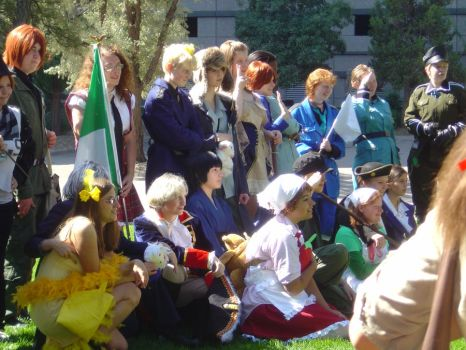 Hetalia Shoot 1- Ndk 2011 by PrussianBabi