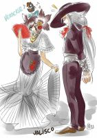MUGEN: Mexican festival outfits by Mistiqarts