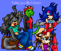 Thank You, My Friends by Flamy-Star