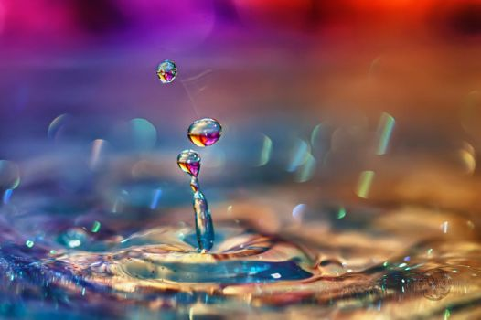 Glitter Drops HDR by Creative--Dragon