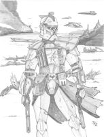 ARC Trooper- Pencilled by Kuk-Man