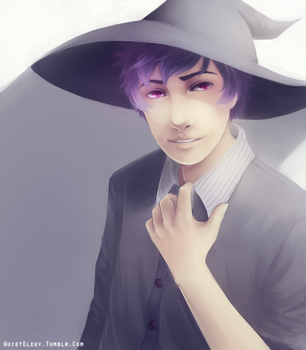 Male Witch by QuietElegy