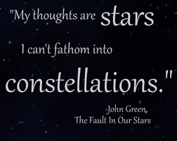 Stars, Constellations, and Thoughts by TheAeolist