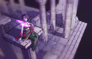 DOTA 2 - Templar Assassin by mortinfamiART