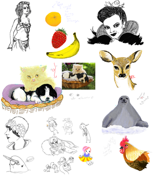 Paint Chat Drawings by myu2k2