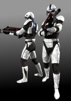 Troopers by wancow