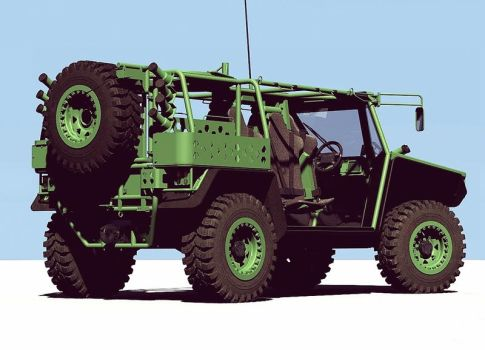 Concept Military Buggy by GGMVDB