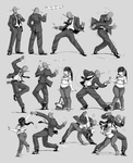 Nsio Pose Practice 9: Anon Party Hard! [Update] by Nsio
