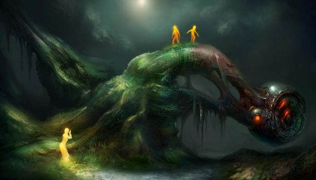 Magically delicious swamp by GeniusFetus