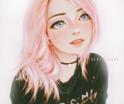Cotton Candy Girl. by ririss
