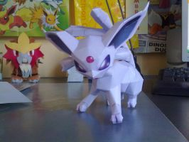 Espeon papercraft by Marlous2604