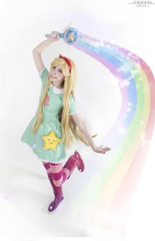 Star Butterfly cosplay Star vs the forces of evil by Tenori-Tiger