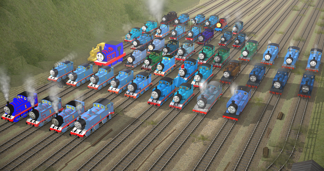 The History of Thomas in Trainz by Nictrain123