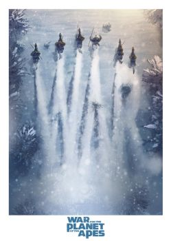 War For The Planet Of The Apes by AndyFairhurst
