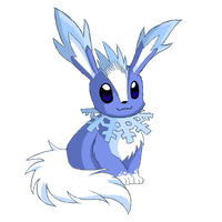 Four-Seasons-of-Eevee: Winter by EleanorTopsie