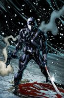 SnakeEyes 7 Cover B by spidermanfan2099