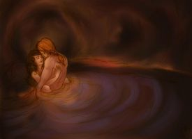 Claire and Jamie - the womb by linzo-brummba