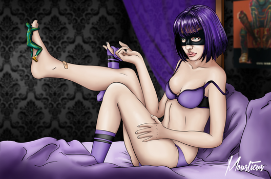 Hit-Girl (adult) by Mousticus