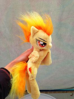 Spitfire beanie my little pony by Epicrainbowcrafts