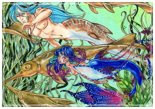 We Live in the Sea by Helera