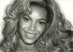 Beyonce Knowles by Marcusrafaelft