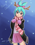 Christmas AT: Zella by eddywardster