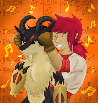 Let the Music Fuel Your Fighting Spirit! by alphaofdarkness