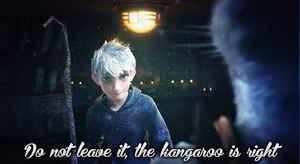 WALLPAPER.~ Jack Frost_The Kangaroo is right by Solita-San