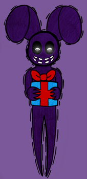 A Gift From A Shadow - FNAF 3rd Anniversary by superpinkygirl101
