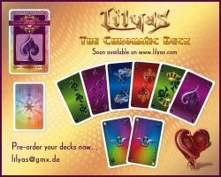The Chromatic Deck - Printing in Process by Lilyas