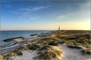 Skagen Lighthouse HDR by LyrixDeRaven